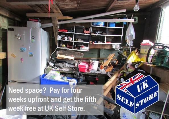 Special Offer on Sepf Storage